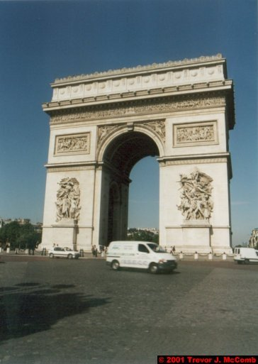 France 034 ~ Ile-de-France 034 ~ Paris 34 ~ Place Charles de Gaulle 2 ~ L'Arch de Triomphe 04