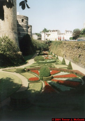 France 190 ~ Pays-de-la-Loire 109 ~ Angers 12 ~ Château 08 ~ Garden 02
