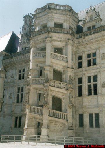 France 363 ~ Centre 126 ~ Blois 04 ~ Château 04 ~ L'aile François I 01 ~ Staircase 1