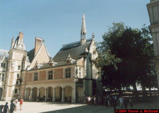 France 366 ~ Centre 129 ~ Blois 07 ~ Château 07 ~ L'aile Louis XII 05 ~ Nave of Chappelle St. Calais 1