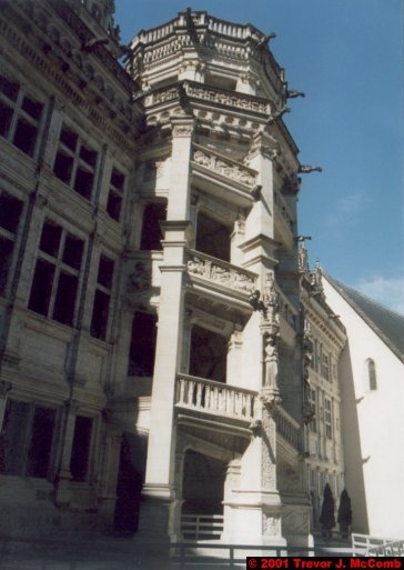 France 367 ~ Centre 130 ~ Blois 08 ~ Château 08 ~ L'aile François I 02 ~ Staircase 2