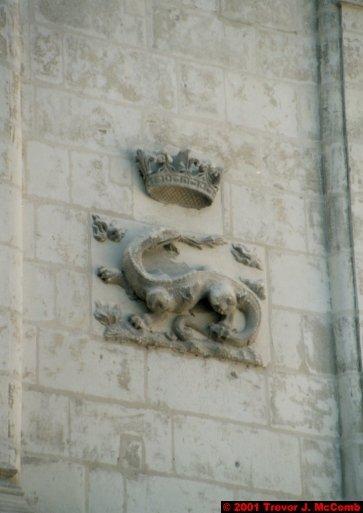 France 372 ~ Centre 135 ~ Blois 13 ~ Château 13 ~ L'aile François I 05 ~ Detail ~ Salamander 1