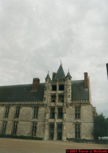 France 429 ~ Centre 192 ~ Châteaudun 03 ~ Château 3 ~ L'aile de Longueville 1 ~ Renaissance Staircase 1