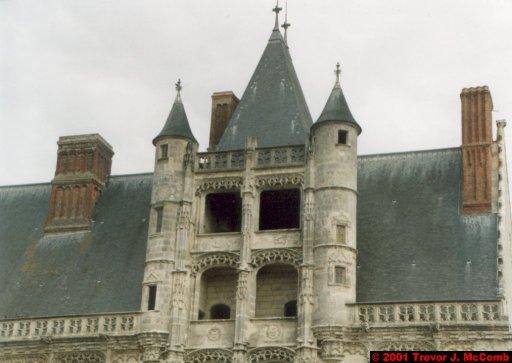 France 430 ~ Centre 193 ~ Châteaudun 04 ~ Château 4 ~ L'aile de Longueville 2 ~ Renaissance Staircase 2