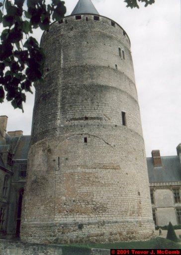France 432 ~ Centre 195 ~ Châteaudun 06 ~ Château 6 ~ Keep