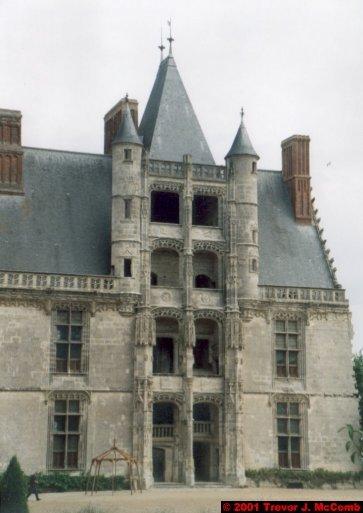 France 433 ~ Centre 196 ~ Châteaudun 07 ~ Château 7 ~ L'aile de Longueville 3 ~ Renaissance Staircase 3