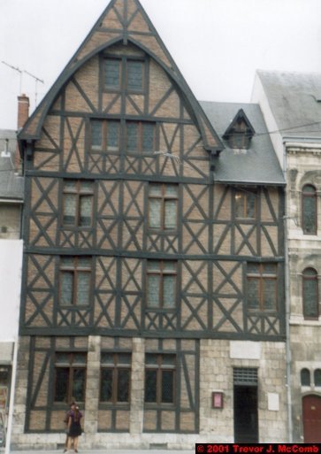 France 484 ~ Centre 247 ~ Orléans 15 ~ Place du Géneral de Gaille 1 ~ Maison de Jeanne d'Arc