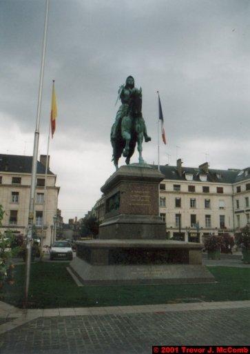 France 488 ~ Centre 251 ~ Orléans 19 ~ Place du Martroi 1 ~ Statue of Jeanne d'Arc 1