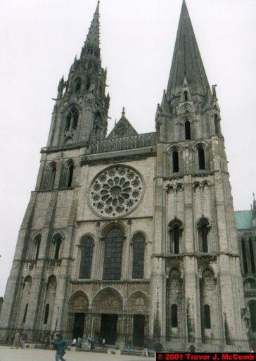 France 498 ~ Centre 261 ~ Chartres 07 ~ Cathédrale Notre Dame 07