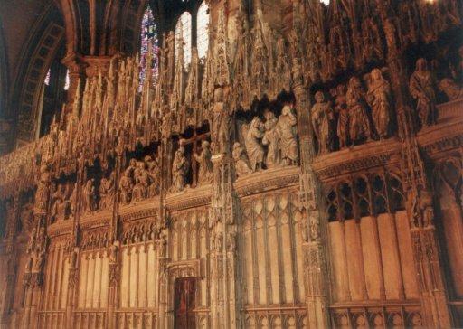 France 505 ~ Centre 268 ~ Chartres 14 ~ Cathédrale Notre Dame 14 ~ Wood Carvings 2