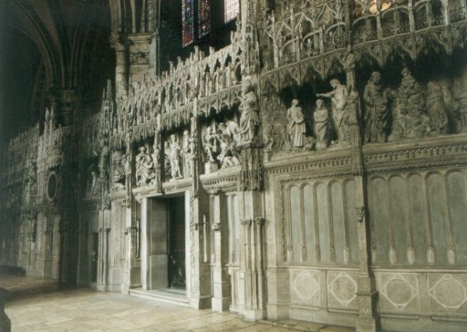 France 507 ~ Centre 270 ~ Chartres 16 ~ Cathédrale Notre Dame 16 ~ Wood Carvings 3