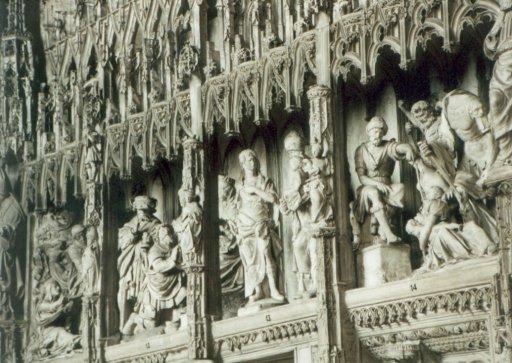 France 508 ~ Centre 271 ~ Chartres 17 ~ Cathédrale Notre Dame 17 ~ Wood Carvings 4