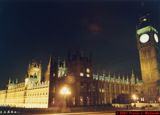 U. K. 37 ~ London 37 ~ Palace of Westminster 14 ~ St. Stephen's Clock Tower (Big Ben) 12
