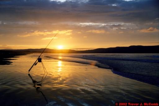 U. K. 44 ~ Northern Ireland 44 ~ Limavady Borough 07 ~ Benone Strand 07 ~ Sunset 02