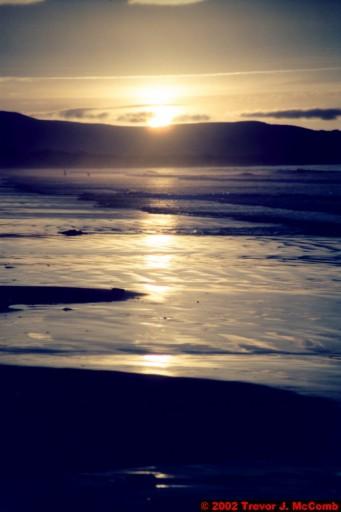 U. K. 46 ~ Northern Ireland 46 ~ Limavady Borough 09 ~ Benone Strand 09 ~ Sunset 04
