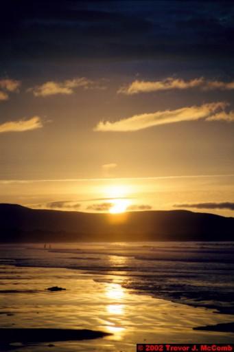 U. K. 47 ~ Northern Ireland 47 ~ Limavady Borough 10 ~ Benone Strand 10 ~ Sunset 05