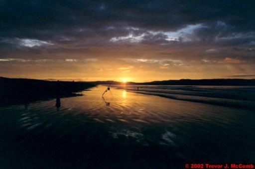 U. K. 48 ~ Northern Ireland 48 ~ Limavady Borough 11 ~ Benone Strand 11 ~ Sunset 06