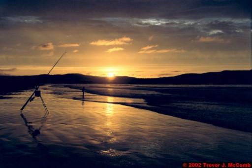 U. K. 49 ~ Northern Ireland 49 ~ Limavady Borough 12 ~ Benone Strand 12 ~ Sunset 07