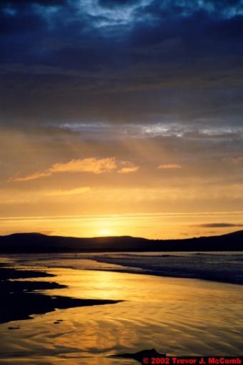 U. K. 52 ~ Northern Ireland 52 ~ Limavady Borough 15 ~ Benone Strand 15 ~ Sunset 10