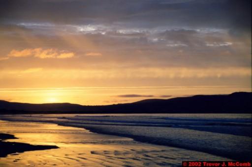 U. K. 53 ~ Northern Ireland 53 ~ Limavady Borough 16 ~ Benone Strand 16 ~ Sunset 11