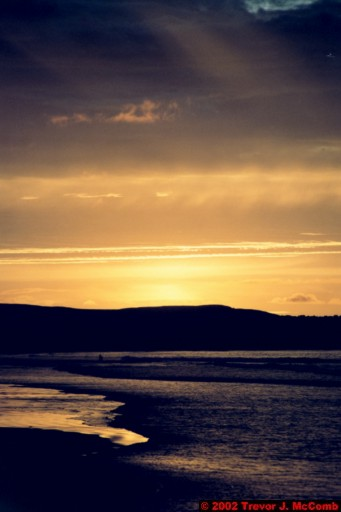 U. K. 55 ~ Northern Ireland 55 ~ Limavady Borough 18 ~ Benone Strand 18 ~ Sunset 13
