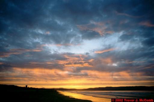 U. K. 58 ~ Northern Ireland 58 ~ Limavady Borough 21 ~ Benone Strand 21 ~ Sunset 16