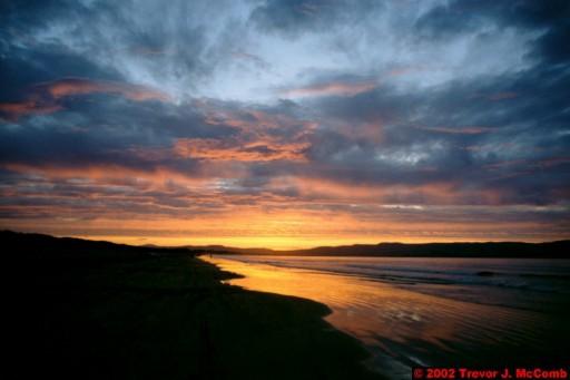 U. K. 59 ~ Northern Ireland 59 ~ Limavady Borough 22 ~ Benone Strand 22 ~ Sunset 17