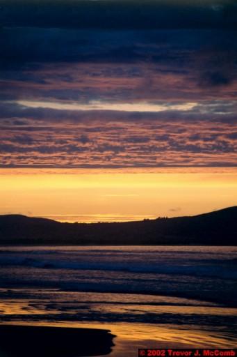 U. K. 62 ~ Northern Ireland 62 ~ Limavady Borough 25 ~ Benone Strand 25 ~ Sunset 20