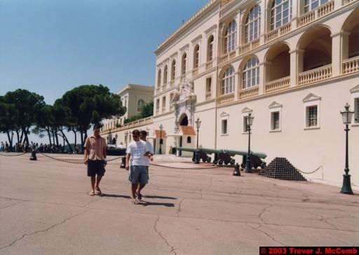 Monaco 015 ~ Monaco Ville 09 ~ Place du Palais 05 ~ Palais Princier 1