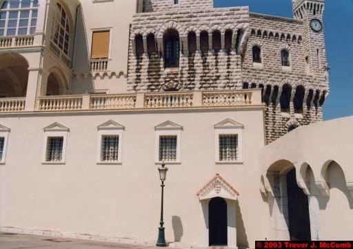 Monaco 016 ~ Monaco Ville 10 ~ Place du Palais 06 ~ Palais Princier 2