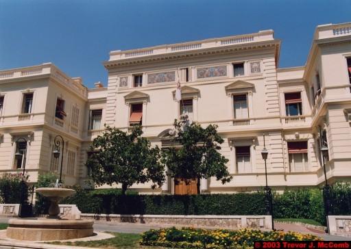 Monaco 021 ~ Monaco Ville 15 ~ Place de la Visitation ~ Ministrie d'Etate