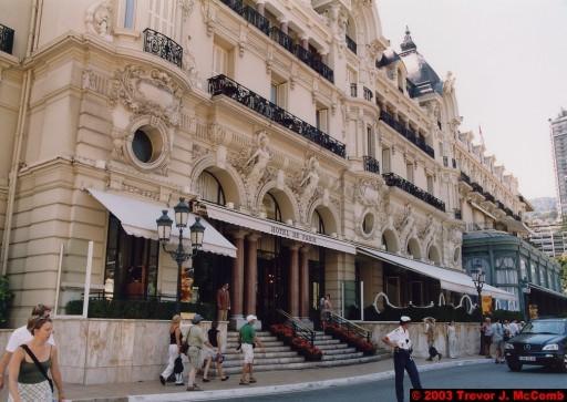 Monaco 038 ~ Monte Carlo 10 ~ Place du Casino 01 ~ Hôtel de Paris 1